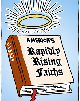Rapidly Rising Faiths