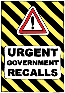 Urgent Government Recalls