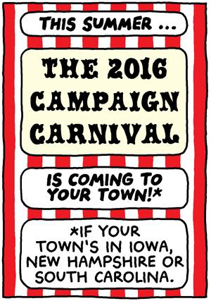 The 2016 Campaign Carnival