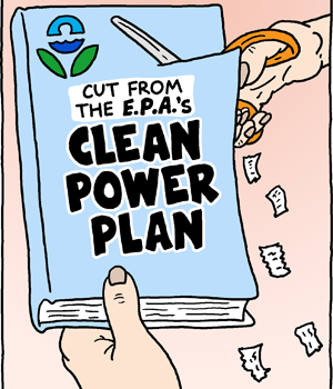 Cut from the Clean Power Plan