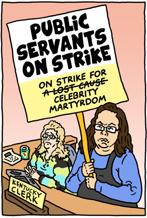 Public Servants on Strike