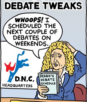 Democratic Debate Tweaks