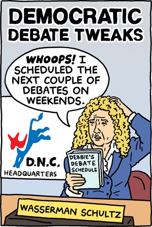Democratic Debate Tweaks