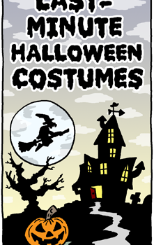 Last-Minute Halloween Costumes