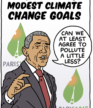 Modest Climate Change Goal