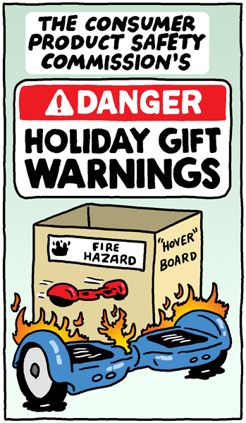 Holiday Gift Warnings