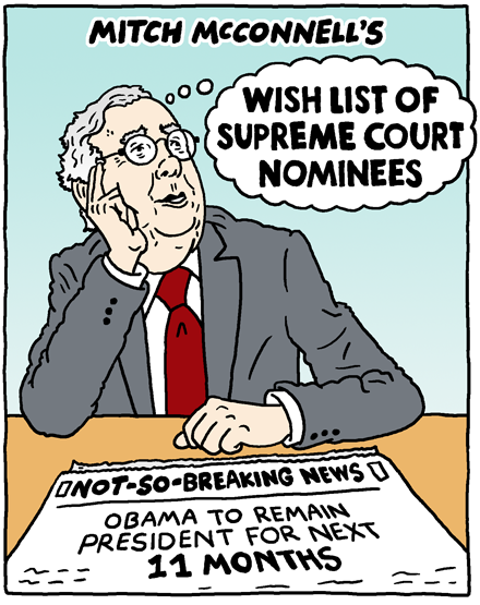 Wish List of Supreme Court Nominees