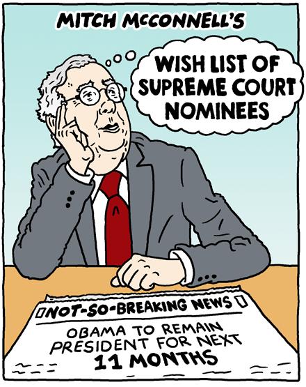 Wish List of Supreme Court Nominees