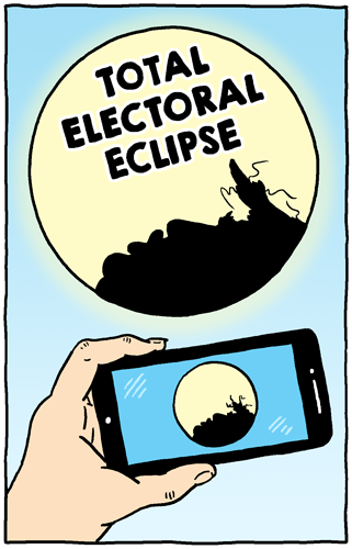 Total Electoral Eclipse