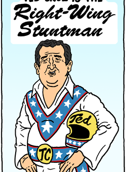 Right-Wing Stuntman