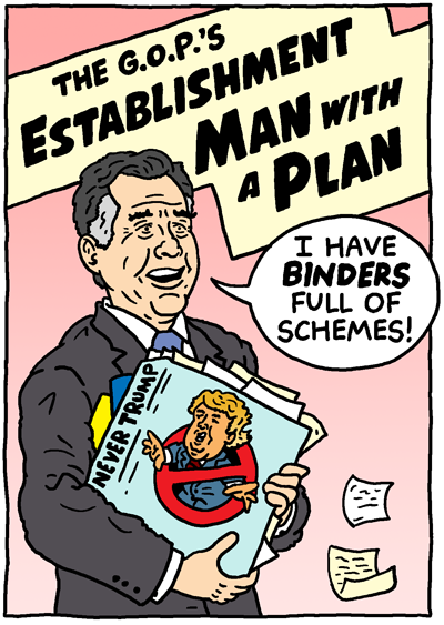 Establishment Man with a Plan