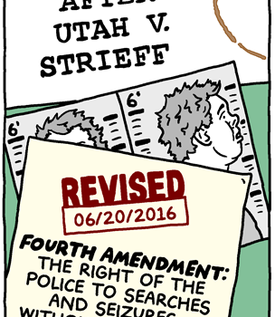 Policing After Utah V. Strieff