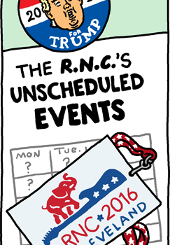 The RNC's Unscheduled Events