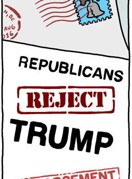 Republicans Reject Trump