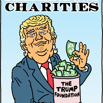Donald Trump's Tremendous Charities