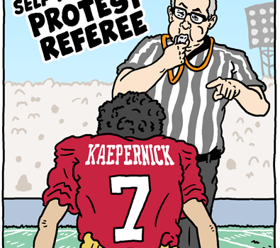 The Self-Appointed Protest Referee