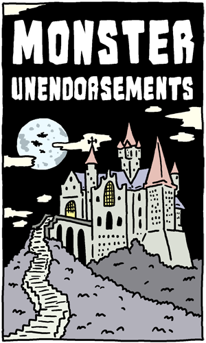 Monster Unendorsements