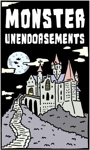 Monster Unendorsements