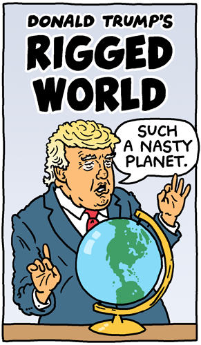 Donald Trump's Rigged World
