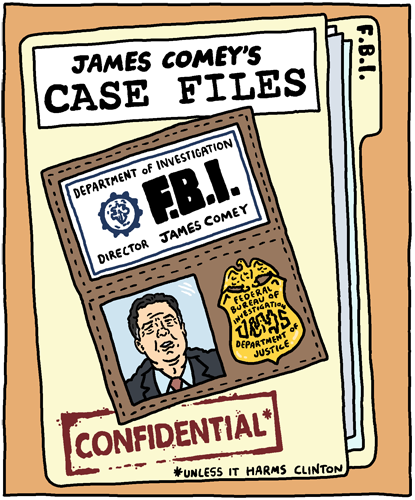 James Comey's Case Files