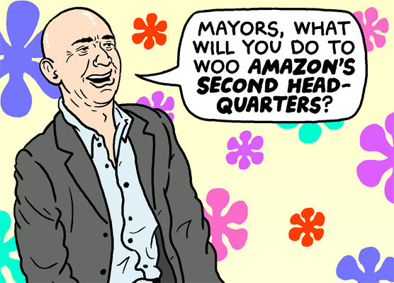 The Amazon Bidding Game
