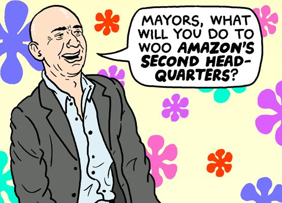 The Amazon Bidding Game