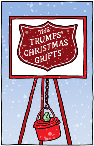 The Trumps' Christmas Grifts